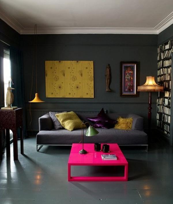 Schwarze- Innenarchitektur Schwarzes Design Ideen