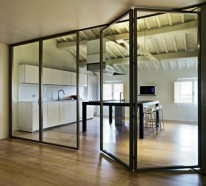 Raumteilung Tricks :  Innere Glaswände