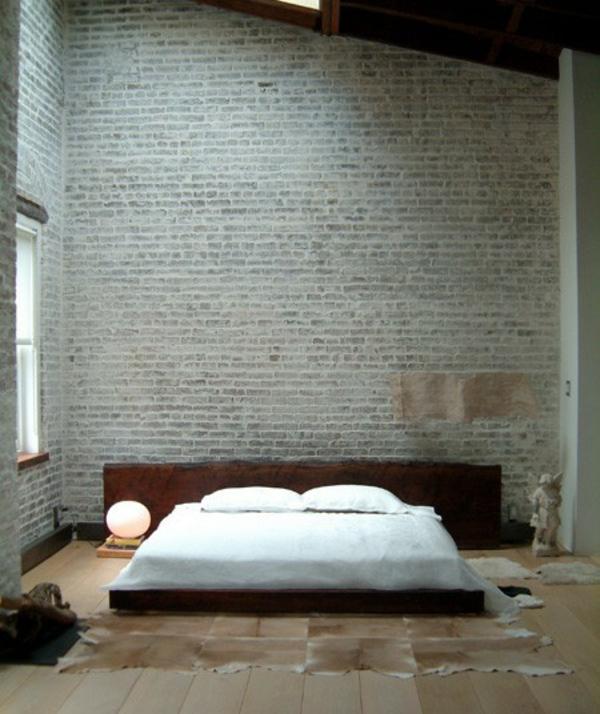 Backstein Wand Dekoration in Urban Stil