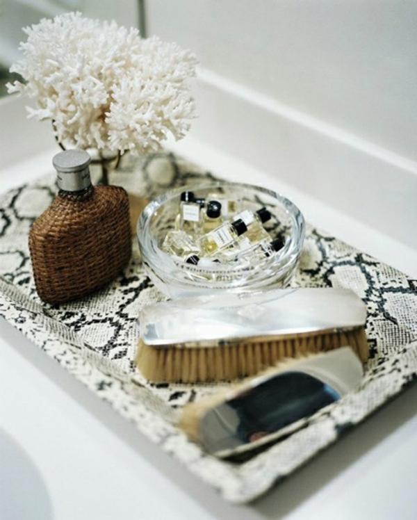 Schön und elegant in weißen Koralien