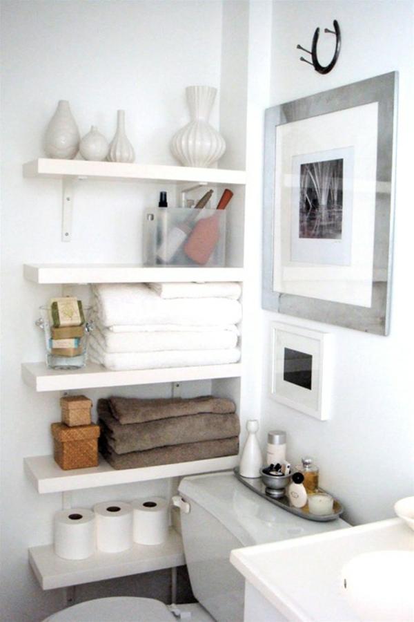 Badezimmer-Organisation-Deko-Papier