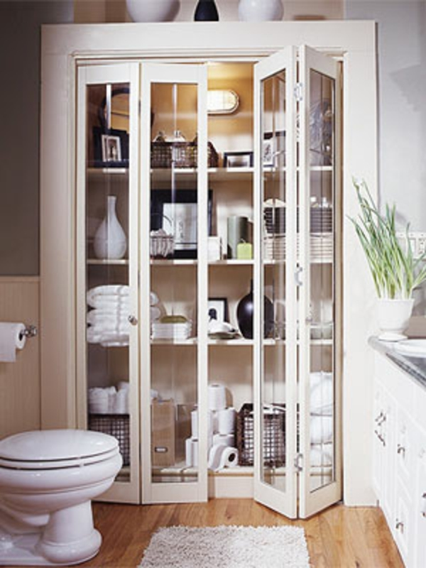 Badezimmer-Organisation-Deko-Schreibtisch