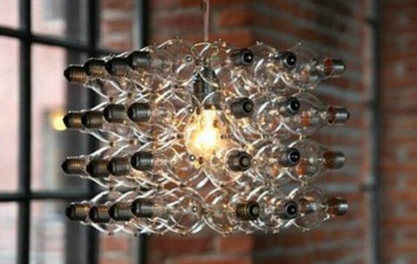 37 Coole Lampen Die Fast Nur Aus Gluhbirnen Bestehen