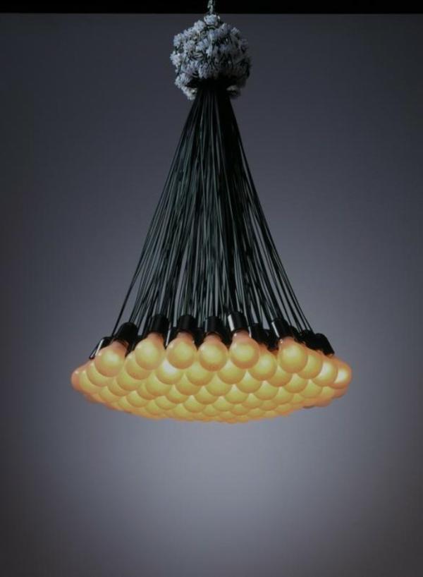 Coole Lampen mit  Deko Idee in Blumentrauss