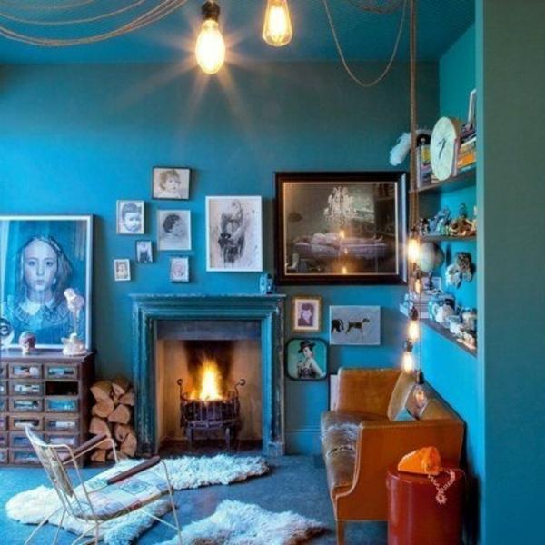 Cool Lampen in einem coolen Zimmer