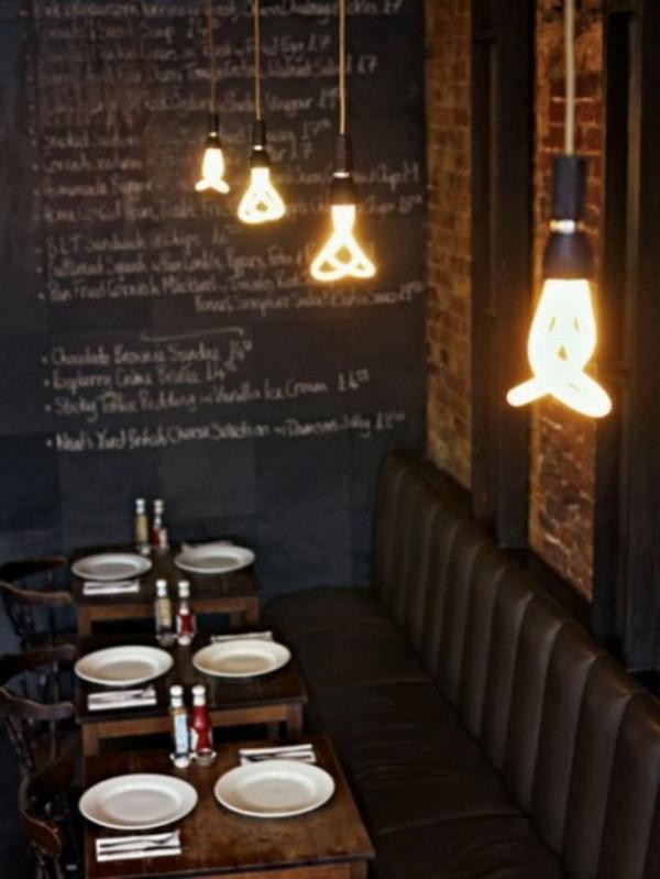 Cool Lampe Idee in einer Kneipe Deutschlands