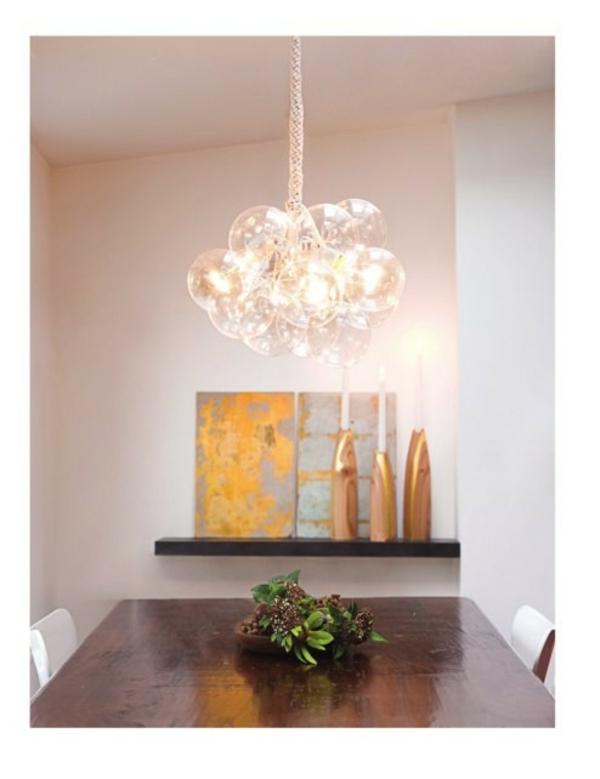 Berühmt 37 Coole Lampen, die fast nur aus Glühbirnen bestehen . PM04