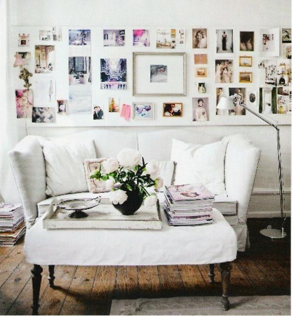 Familienfotos auf Idee auf dem Wand in Ihrem Wohnzimmer