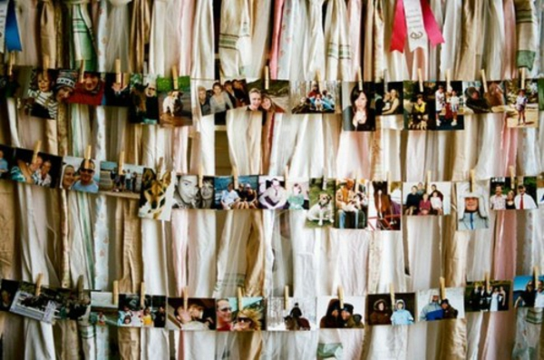 Familienfotos mit Idee Dekoration schicke Idee