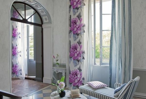 wohnzimmer regal ideen:wohnzimmer ideen : Frühling Dekoration Ideen In Blau Grau Wohnzimmer