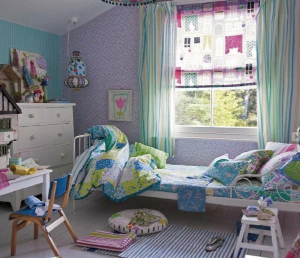 Frühling Dekoration Ideen in Rosa Kinderzimmer