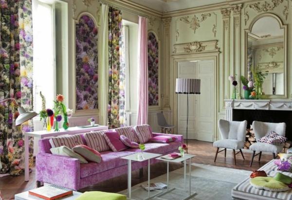 frühling dekoration ideen für ihr zuhause. - Rosa Wohnzimmer Deko