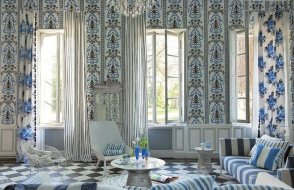 frühling dekoration ideen für ihr zuhause. - Wohnzimmer Deko Ideen Blau