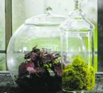 20 Ideen wie Sie selber Glasbehälter als Dekoration verwenden können.