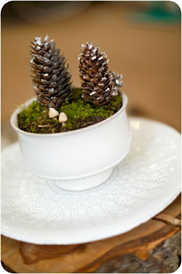 Glasbehälter Pine