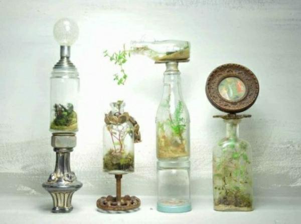 Glasbehälter Teller