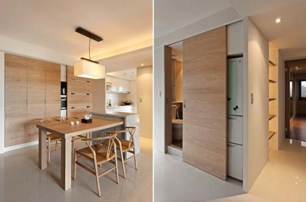 Modernes minimalistisches Dekor