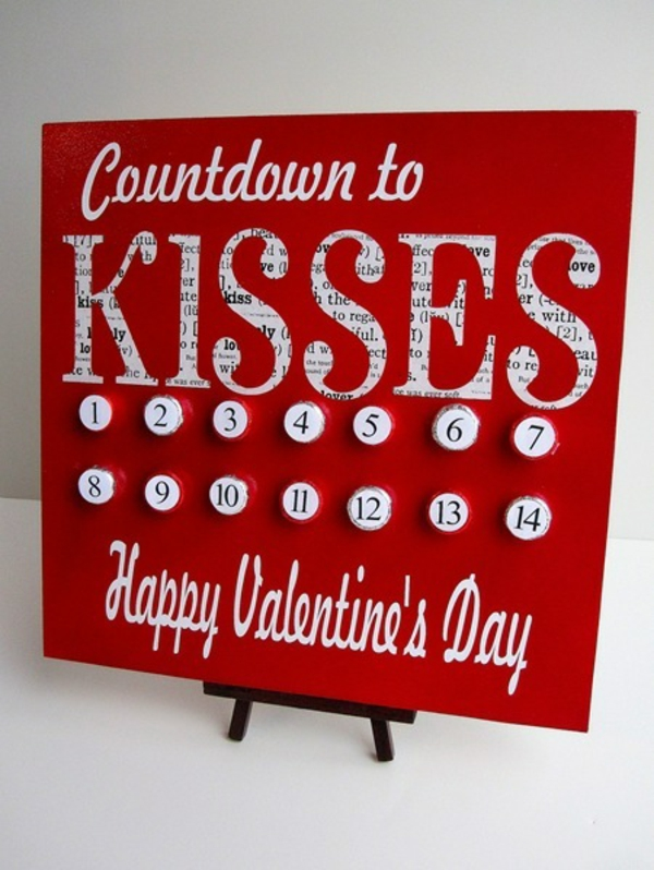 Valentinstag : fünf liebevolle Leinwandbilder für zu Hause