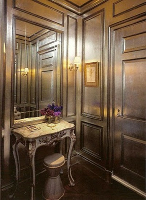 Schönes Vorraum im Haus  Beispiel für Metallische Wande Idee von uns