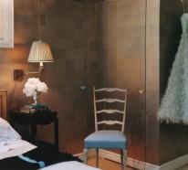 20 Coole Ideen, Ihre Wände in Metallische und Glänzende Wände umzuwandeln