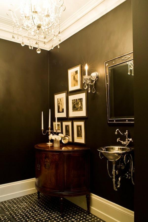 20 ideen ihre w nde gl nzend metallisch zu machen. Black Bedroom Furniture Sets. Home Design Ideas