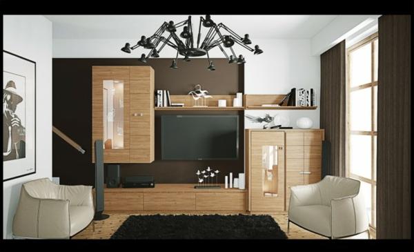 Modernes wohnzimmer braun  27 Modernes Wohnzimmer Vorschläge und Ideen