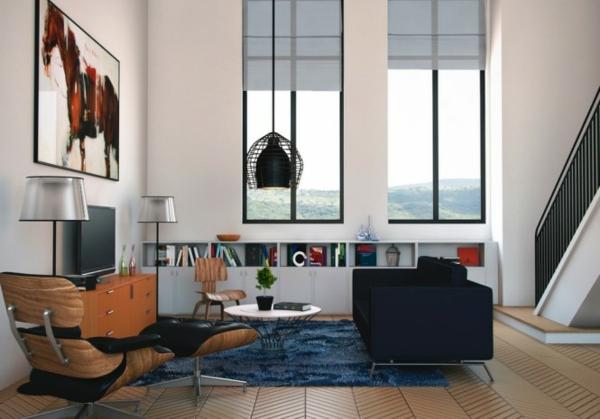 wohnzimmer modern : wohnzimmer modern und alt ~ inspirierende ...