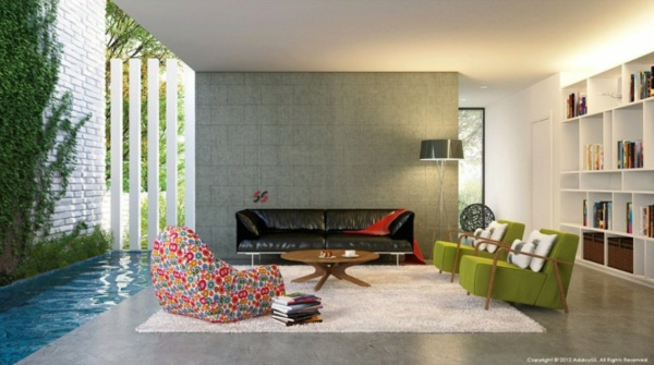 Modernes Wohnzimmer Neu