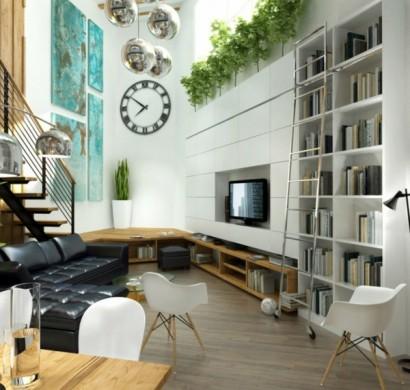 27 Modernes Wohnzimmer Ideen
