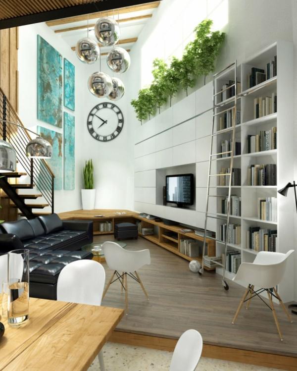 Modernes Wohnzimmer Weiss