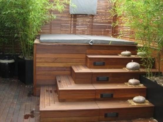 Modische ideen und neuigkeiten f r whirlpools for Gartengestaltung jacuzzi