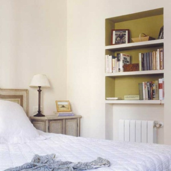 25 coole ideen f r nischenregale. Black Bedroom Furniture Sets. Home Design Ideas