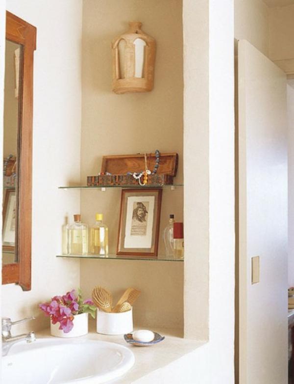 Nischen Regale  Dekoration Badezimmer