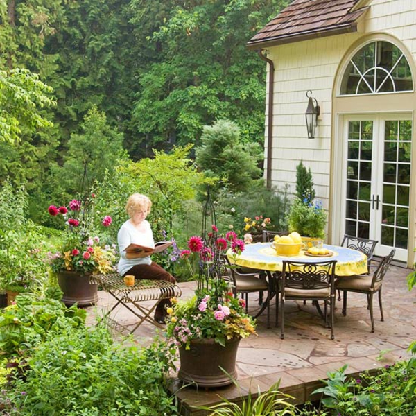 terrasse gestaltung machen sie ihre terrasse einen. Black Bedroom Furniture Sets. Home Design Ideas
