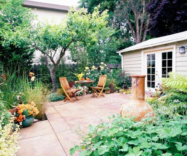 Terrasse Materialien und Designs Landhaus Stil