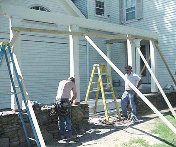 Terrasse-Renovierung-gartendeko-pergola-aufbau