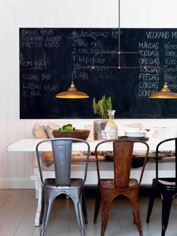 Esszimmerstuhle Verschiedene Farben #20: Sieht Einfach Gemütlich Aus, Die Verschiedene Speisestühle Bringen Viel Dazu