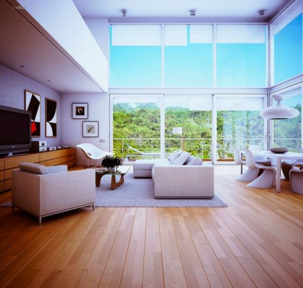 Ideen innenausstattung vom designer minimalistisches for Innenausstattung wohnzimmer