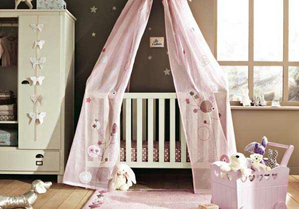 baby kinderzimmer bequem verspielt idee design