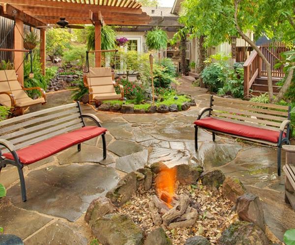 Gartengestaltung genie en sie 15 garten ideen und for Romantische garten gestalten