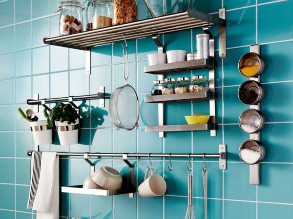 Blaue Fliesen Küche | Blaue Fliesen Kuche Fliesen Blau Badezimmer Ausstattung Und Mobel