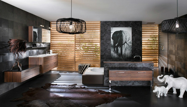 Wohnung design ideen  Braunes Interieur - phantastische Ideen für Ihr Zuhause