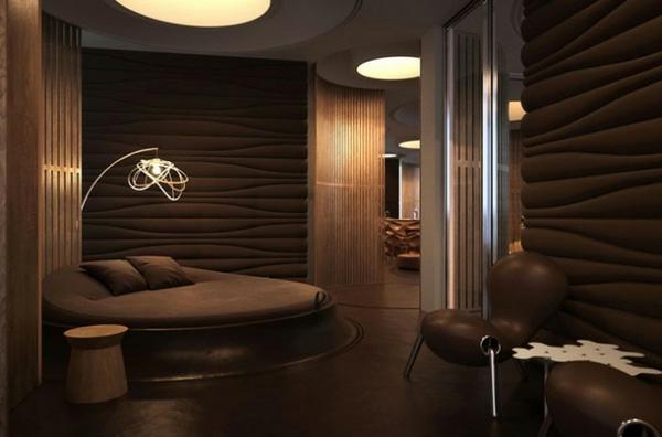Braunes interieur phantastische ideen f r ihr zuhause for Farben in der wohnung