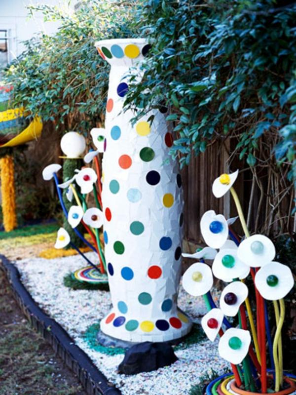 Gartendeko ideen aus preiswerten und g nstigen materialien for Gartendeko ideen