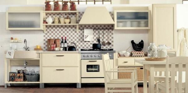Küchenausstattung - Country stil