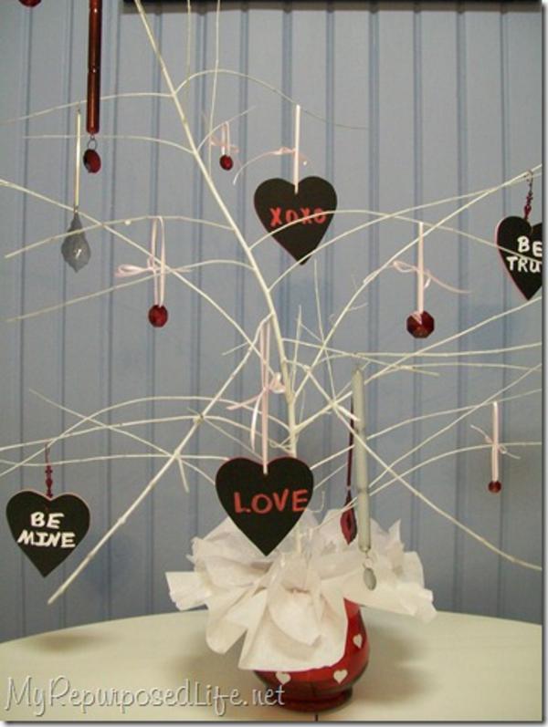 Valentinstag Hausdekoration