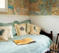 35 tolle Ideen für Patchwork Wanddekoration