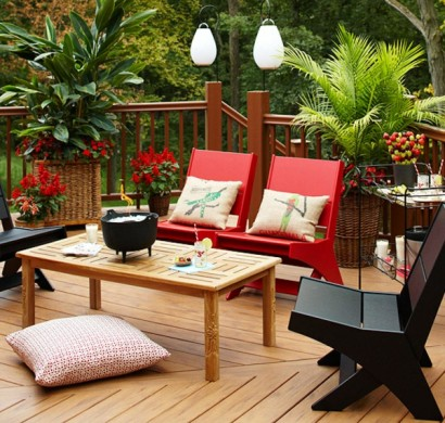 schaffen sie behaglichen au enwohnraum mit terrasse m beln und schutz. Black Bedroom Furniture Sets. Home Design Ideas