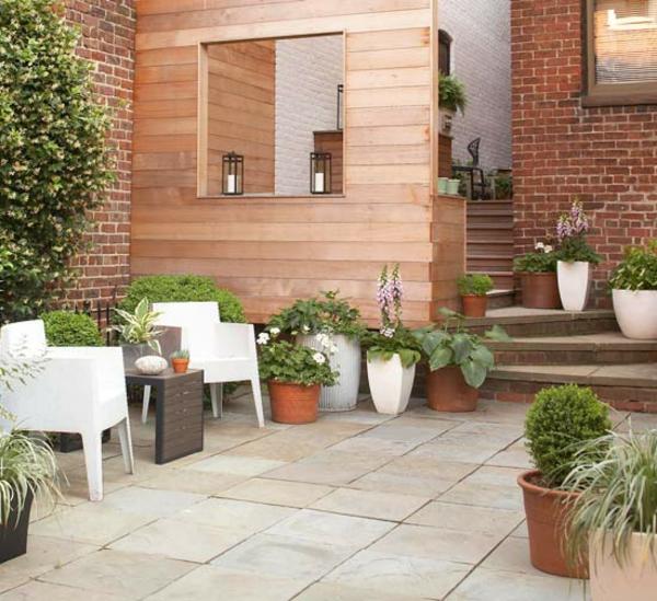 Terrasse-Möbeln Behaglichen Außenwohnraum urban