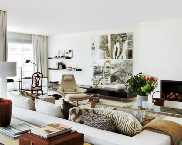 30 coole eklektische interieur ideen inspirierende dekoration - Farben im interieur stilvolle ambiente ...